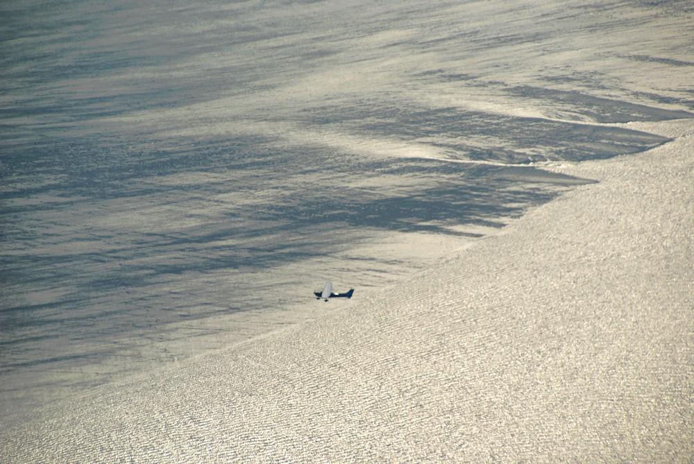 BF über dem Wattmeer